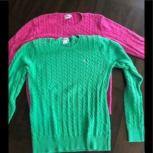 2 lily sweaters -xl